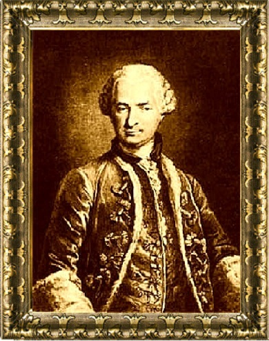 saint germain sepia framed