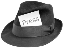 Press fedora