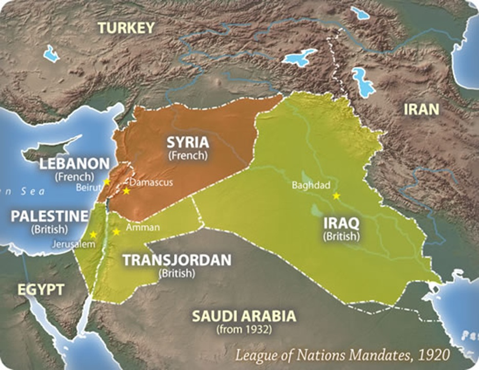 Why Does The Middle East Have Straight Line Borders Paul Andrews