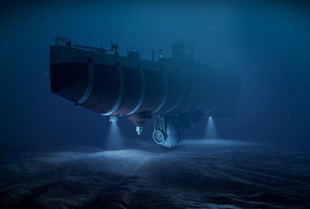 Tàu ngầm Trieste đã đưa 2 người đàn ông xuống độ sâu kỷ lục vào năm 1960
