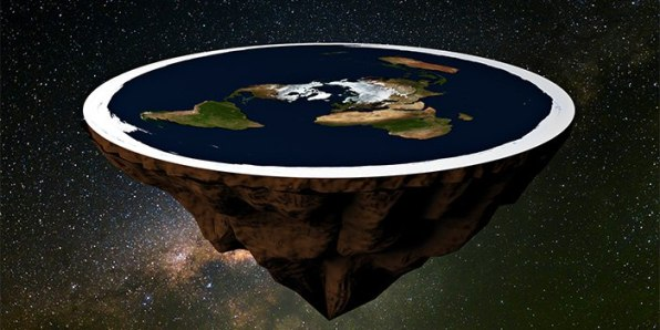 flat earth cover